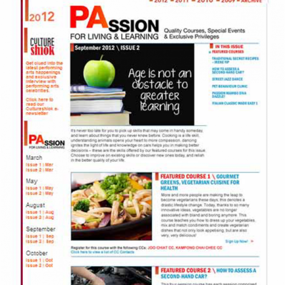 PAssion E-Newsletter